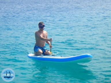 SUP-Surfing op Kreta excursies op Kreta Griekenland