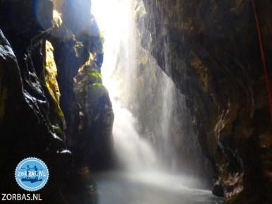 Wandelen zwemmen waterval Preveli