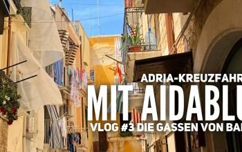 AIDA Vlog #3: Adria mit AIDAblu – Die Gassen von Bari