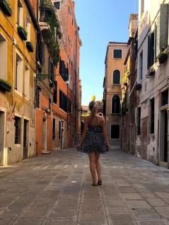 Wir erkunden die Gassen von Venedig