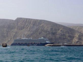 Die Mein Schiff 3 in Khasab