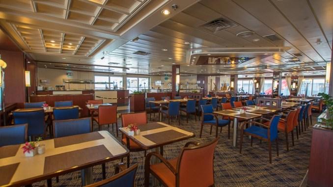 Das Buffetrestaurant Übersee Club