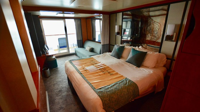 Unsere Mini Suite auf Deck 11