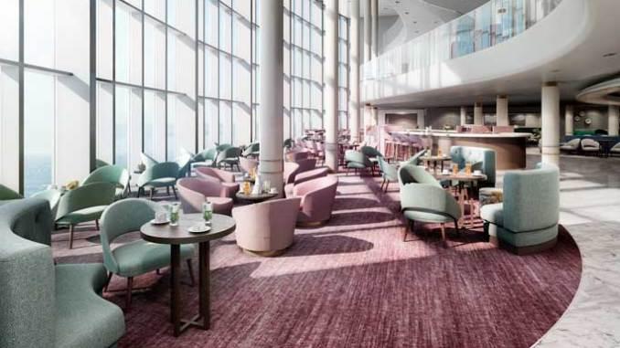 Die Coffee Bar der Iona. Grafik: P&O Cruises