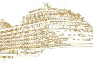 Skizze des dritten Neubaus. Grafik: Regent Seven Seas Cruises