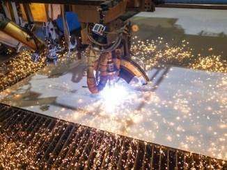 Mit dem Stahlschnitt beginnt der Bau der Odyssey of the Seas. Foto: Royal Caribbean