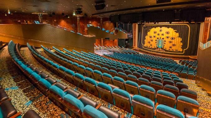 Theater der Norwegian Pearl