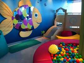 Babyclub und Kidsclub auf der AIDAperla