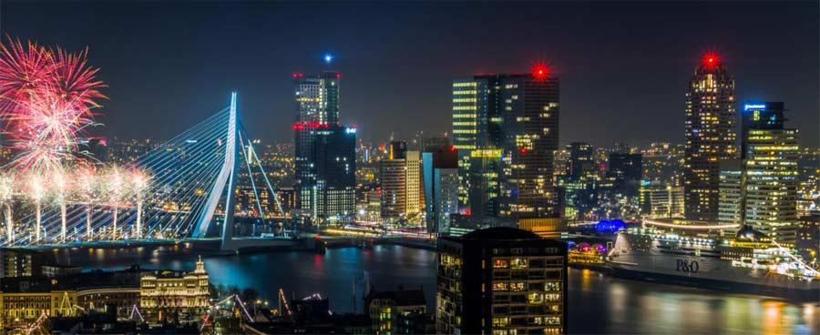 Silvester in Rotterdam - P&O Cruises