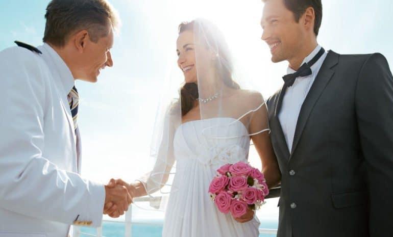 Hochzeit an Bord der Mein Schiff Flotte, Foto: TUI Cruises