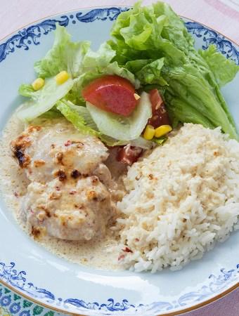 Kyckling med sambal oelek