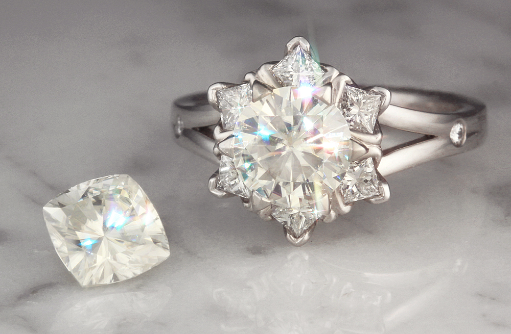 Moissanite Best Diamond Alternative For Engagement Rings