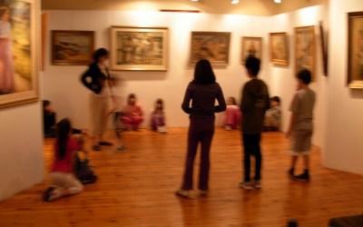 Επίσκεψη στη Δημοτική Πινακοθήκη 2010