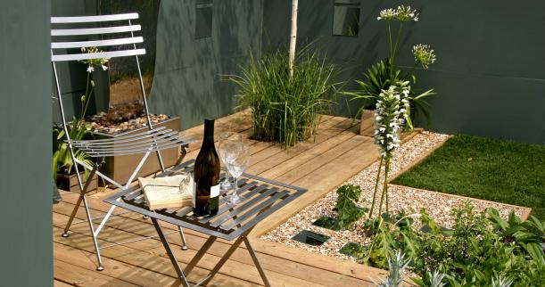 Small patio designs: Tips to make it look bigger | Kris ... on Modern Small Patio Ideas id=40095