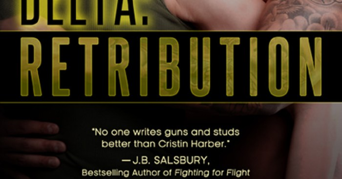 COVER REVEAL: DELTA: RETRIBUTION by Cristin Harber‏