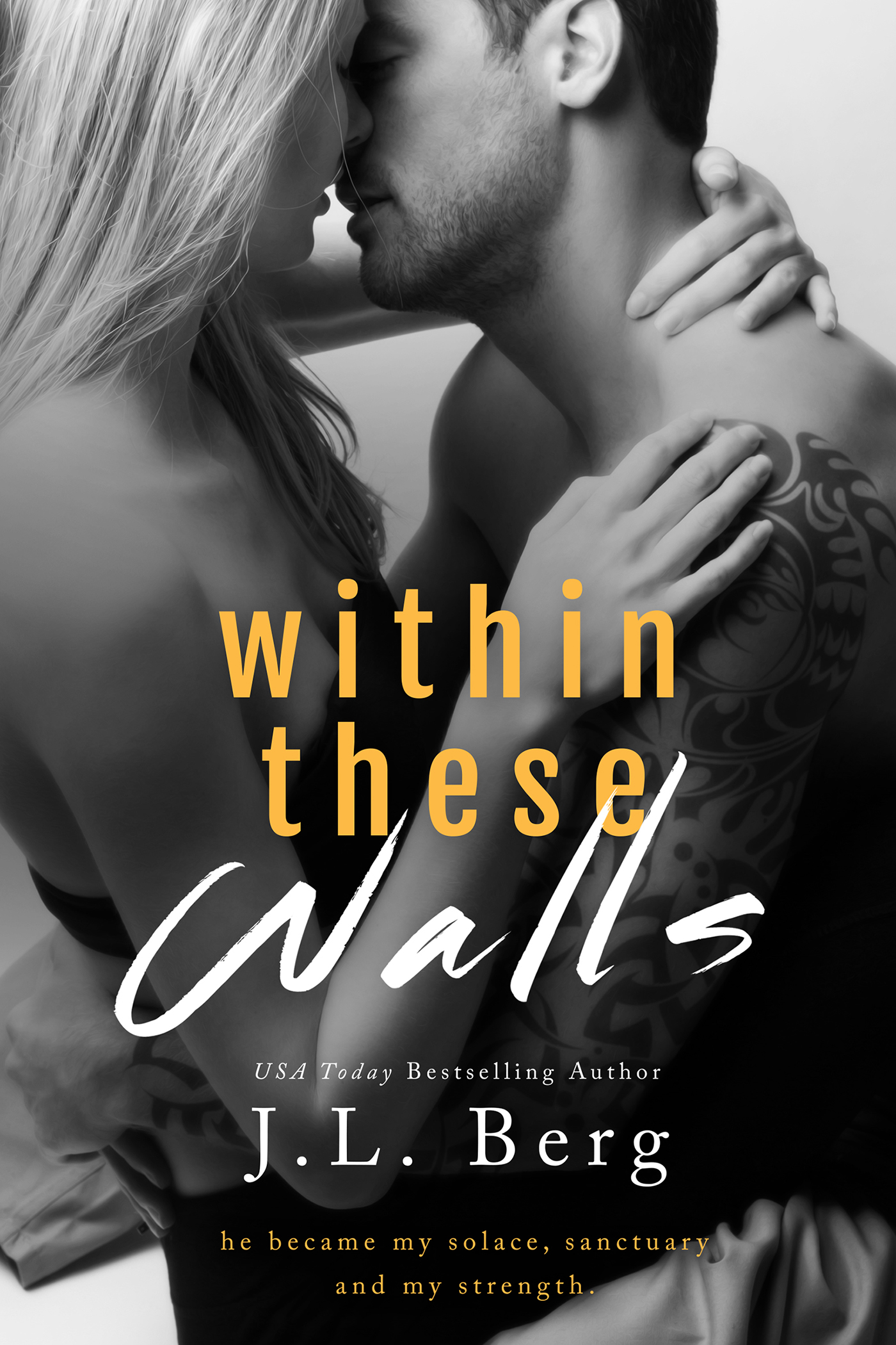 RELEASE BLITZ & GIVEAWAY: WITHIN THESE WALLS by J.L. Berg‏