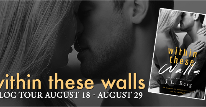 PROMO & GIVEAWAY: WITHIN THESE WALLS by J.L. Berg