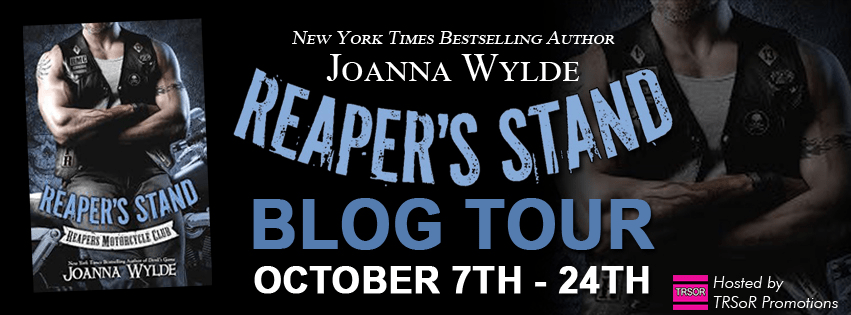 Reapers stand - blog tour