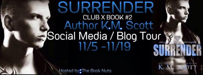 blog tour banner km surrender