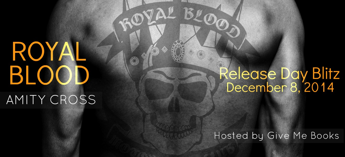 RELEASE DAY GIVEAWAY & REVIEW: ROYAL BLOOD by Amity Cross