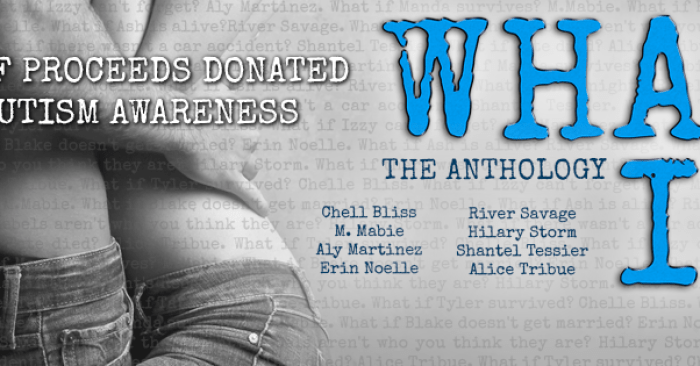 COVER REVEAL & GIVEAWAY: WHAT IF Anthology