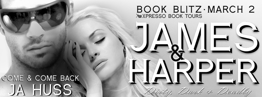 BOOK BLITZ #99c SALE & GIVEAWAY: James and Harper: Come and Come Back by J.A. Huss