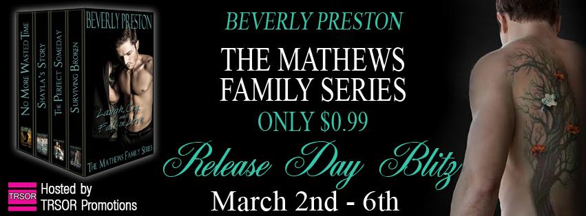 #99c RELEASE BLITZ & GIVEAWAY: The Mathews Family Series Box Set