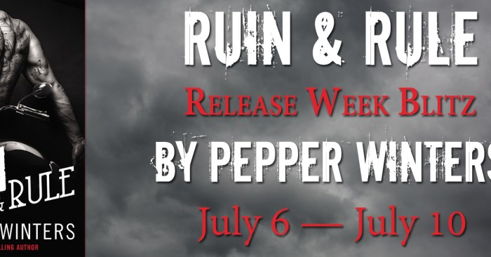 REVIEW & GIVEAWAY: RUIN & RULE by Pepper Winters