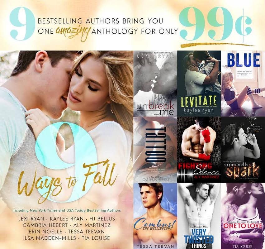RELEASE BLITZ & GIVEAWAY: 9 WAYS TO FALL Anthology