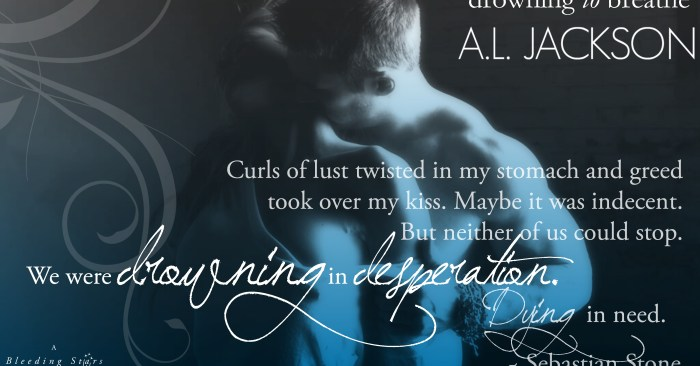 Blog Tour Excerpt & #Giveaway: Drowning to Breathe by AL Jackson