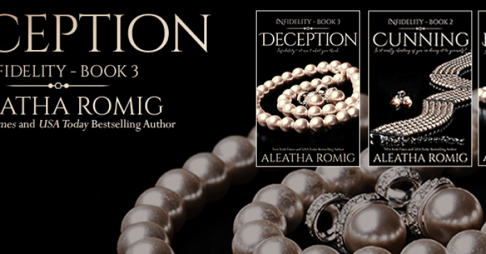 COVER REVEAL: DECEPTION by Aleatha Romig