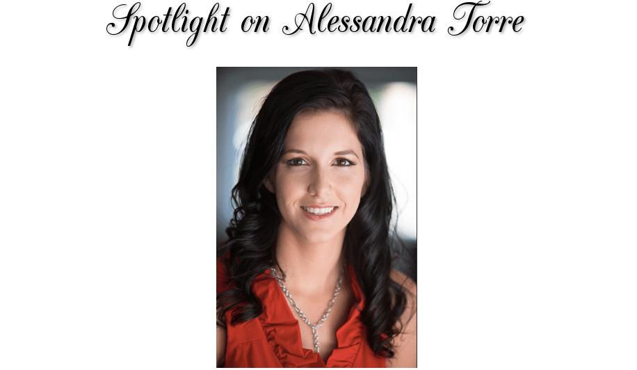 AUTHOR SPOTLIGHT: Alessandra Torre