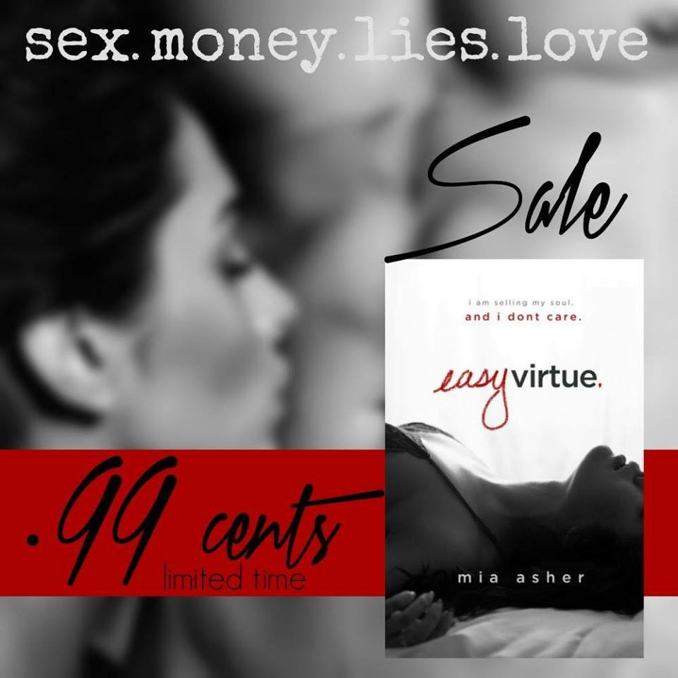 #99c SALE ALERT: EASY VIRTUE by Mia Asher
