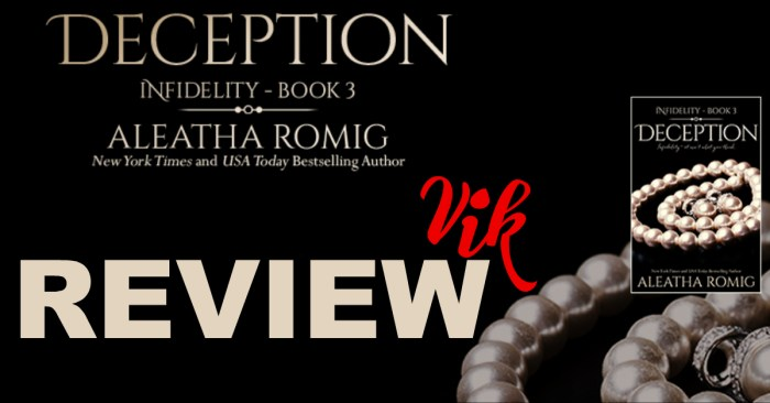 REVIEW: DECEPTION by Aleatha Romig