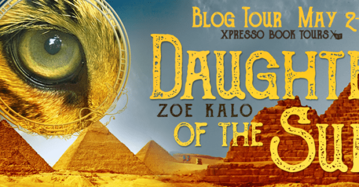 REVIEW & GIVEAWAY: DAUGHTER OF THE SUN by Zoe Kalo