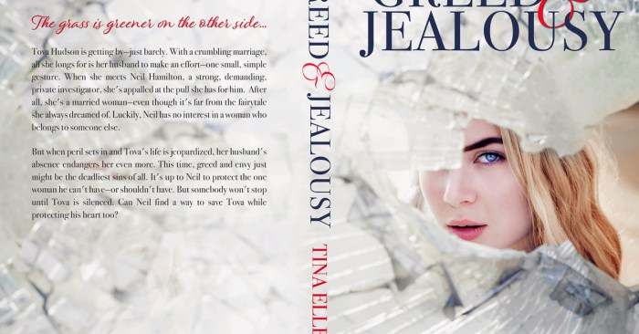 COVER REVEAL: GREED & JEALOUSY by Tina Ellery