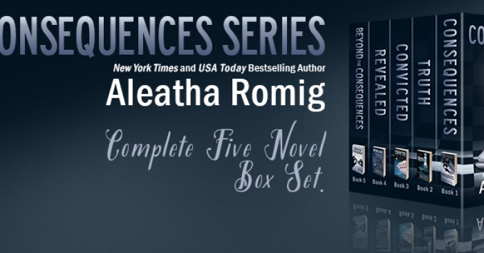 SECRET Announcement full of CONSEQUENCES from Aleatha Romig!