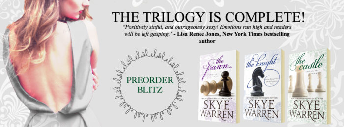 PRE-ORDER BLITZ: THE CASTLE by Skye Warren