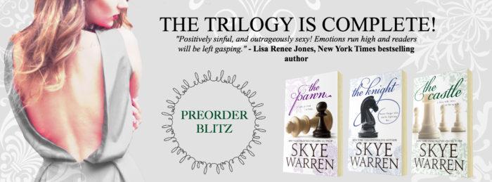 PRE-ORDER BLITZ: THE CASTLE by Skye Warren