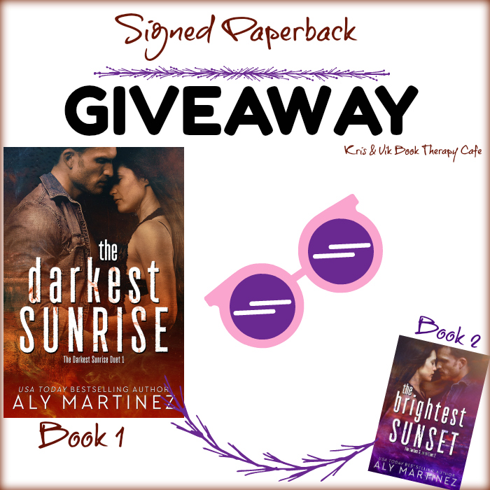 Aly martinez giveaway