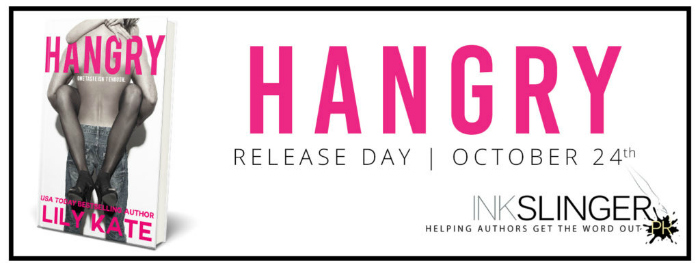NEW RELEASE EXCERPT & GIVEAWAY: HANGRY by Lily Kate