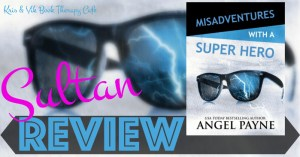 REVIEW: MISADVENTURES WITH A SUPER HERO by Angel Payne