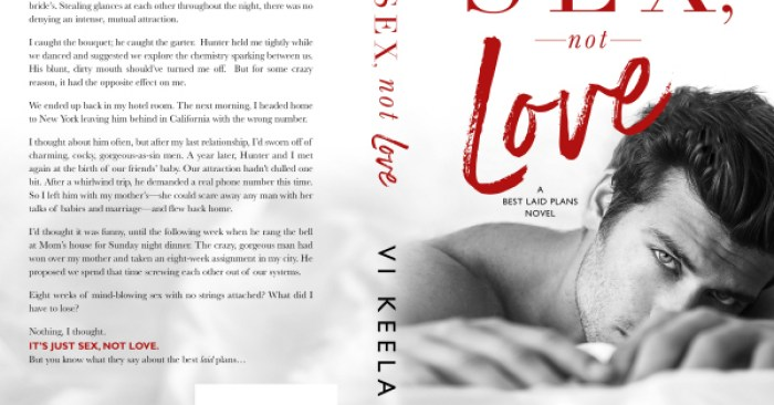 COVER REVEAL: SEX, NOT LOVE by Vi Keeland