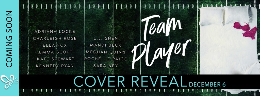 COVER REVEAL: TEAM PLAYER: A CHRISTMAS ANTHOLOGY