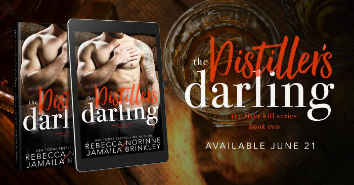COVER REVEAL: THE DISTILLER'S DARLING by Rebecca Norinne & Jamaila Brinkley