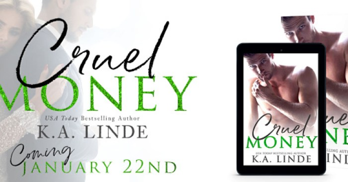 COVER REVEAL: CRUEL MONEY by K.A. Linde