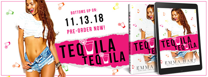 COVER REVEAL: TEQUILA TEQUILA by Emma Hart