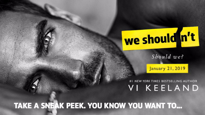 EXCERPT: WE SHOULDN'T by Vi Keeland