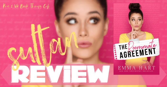 ✔ #NewRelease REVIEW & EXCERPT: THE ROOMMATE AGREEMENT by Emma Hart