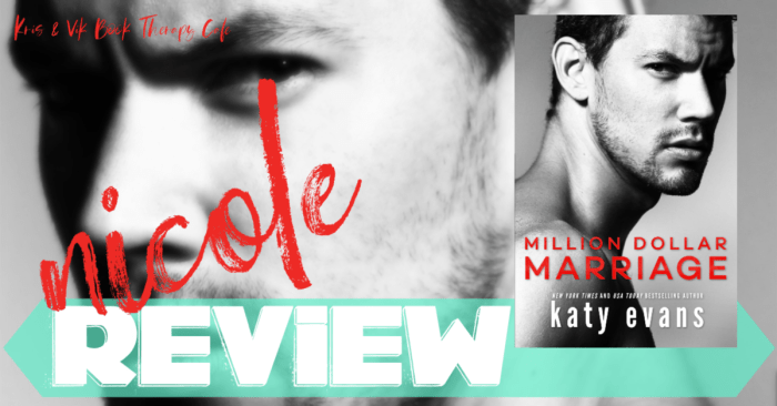 ✔ #NewRelease REVIEW: MILLION DOLLAR MARRIAGE by Katy Evans